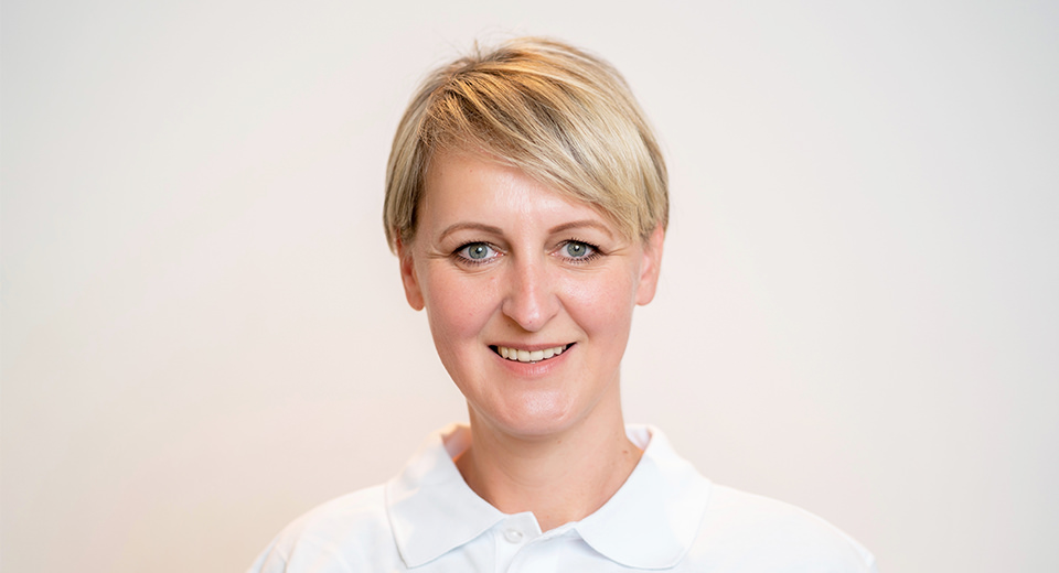 Anita Fröhlich – Praxismanagement, stellv. Praxisleitung